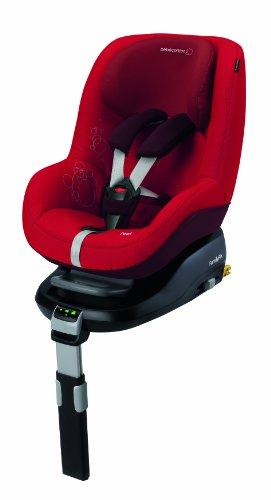Bébé Confort Pearl - Silla de coche, grupo 1, color negro (black raven)