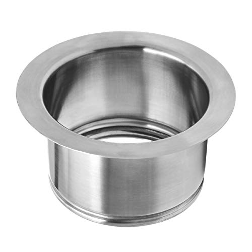 Extended Garbage Disposal Flange, Deep Kitchen Sink Flange for Disposers That Use A 3 Bolt Mount, Fit 3-1/2 Inch Standard Sink Drain Hole