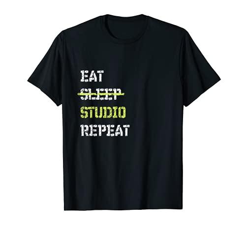 Eat Sleep Studio Repeat Architecture TShirt