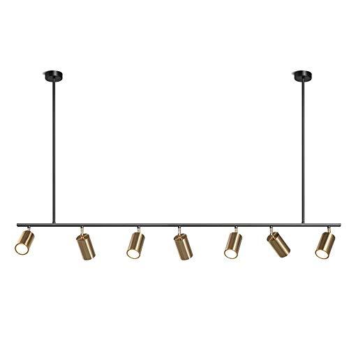 K.LSX Keukeneiland Hanglamp Led Plafond Hanglampen Moderne Creatieve Hanglamp voor Eettafel/Woonkamer/Keuken/Slaapkamer/Kantoor (incl. Lampen Gu10)