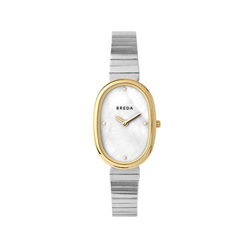 BREDA 'Jane' Gold and Stainless Steel Bracelet Watch, 23MM