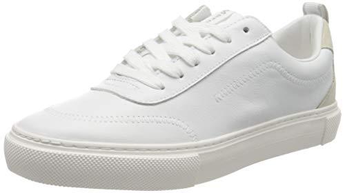 Marc O'Polo Damen 00215823503100 Sneaker, Weiß (White/Offwhite 109), 38 EU