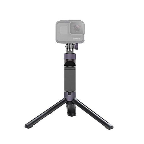 Ansemen Handheld Estabilizador Poseedor para GoPro Hero 3/3+/4/5/6/ Yi 4K/4K+/Lite Deporte Cámara, 360°Girando Portátil Handheld Trípode Stand Bracket Accesorio