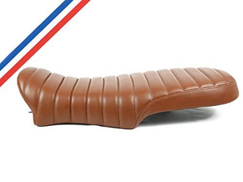 SCRAMBLER sitzbank K100 K75 K1100 cafe racer Sattel Komfortsattel sitz hellbraun braun brown seat zur Messung des anpassungsfähigen Bobber K1 - Opus Workshop (K SCR LB)