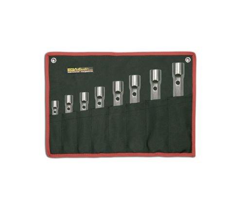 Egamaster - Juego 8 llave tubo doble boca 6-7/16-17