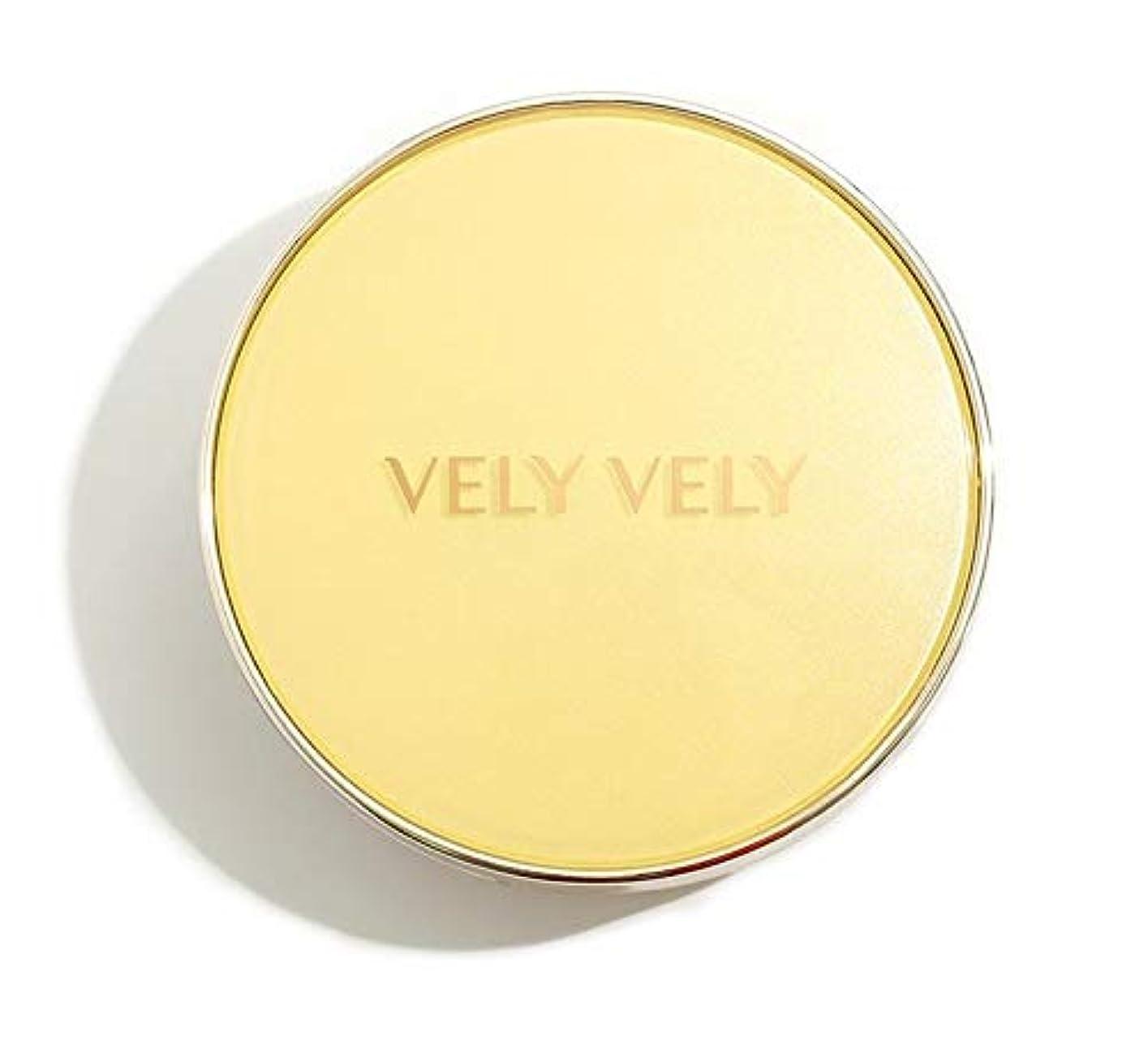 限界広げる銛VELY VELY Aura Honey Glow Cushion/ブリーブリーアウラハニーグロークッション[単品 15g+リフィル15g] (23号 ナチュラル[本品+リフィル]) [並行輸入品]