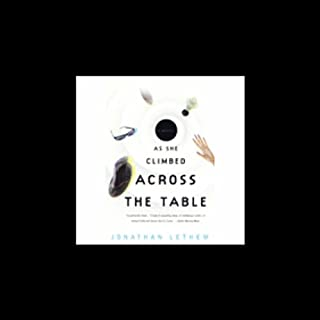 As She Climbed Across the Table audiobook cover art