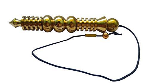 WholesaleGemShop Oro Cobre Chapado Metal Orion Pendulum Big