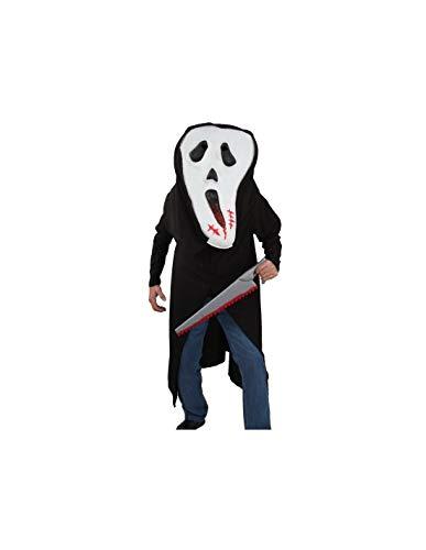 DISBACANAL Disfraz Scream Cabezón Adulto - -, XL