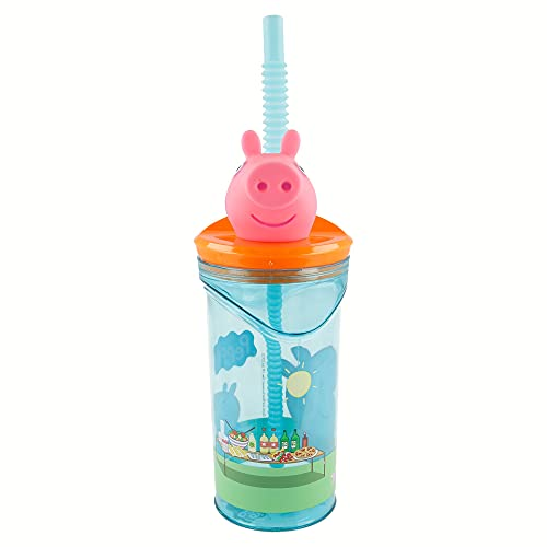 Stor Vaso FIGURITA 3D 360 ML   Peppa Pig Core