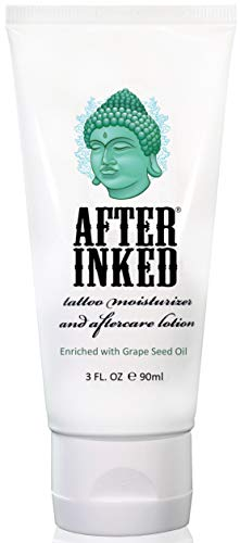 After Inked Tattoo Moisturizer and Aftercare Lotion