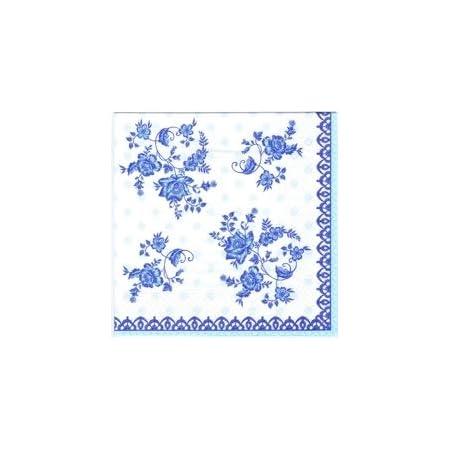 Servietten BLUE MORPHO Ambiente 33x33cmSchmetterling 20 Papierservietten