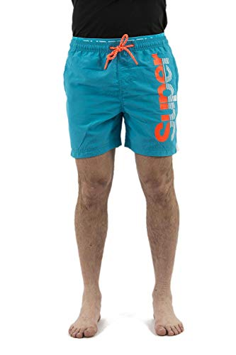 Superdry zwemshort heren State Volley Swim SHO Ocean Blue