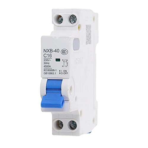 Disyuntor DPN DZ267-32 1P + N 10A 16A 20A 25A 32A NXB-40-10A