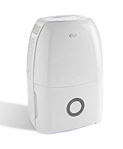 ARGO Dry Digit Evo Deumidificatore con Refrigerante R290, Capacitá di Deumidificazione 13 L/24 H, Bianco