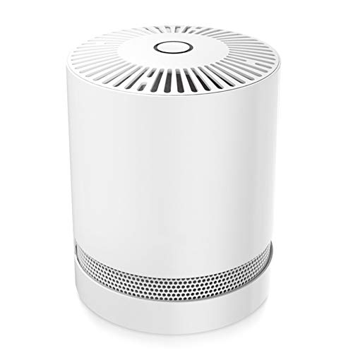 Fantastic Prices! QUWN-Home Air Purifier with HEPA Filters, Compact Desktop Purifiers Filtration wit...