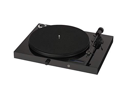 "Pro-Ject Audio Systems Juke Box E, ""All-in-one Plug & Play"" Plattenspielersystem mit Bluetooth und Line-Eingang (Schwarz)"