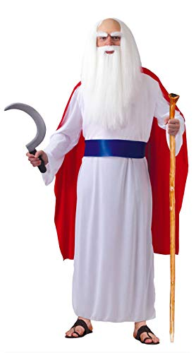 Fiestas Guirca Kostüm keltisch Druide Priester Erwachsene