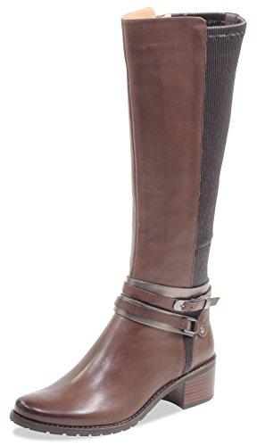 CAPRICE Damen Stiefel 25514-21,Frauen Boots,Lederstiefel,Reißverschluss, Decksohle,Blockabsatz...