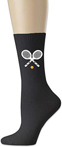 ZJKDKJYXG Tennisball 1 Unisex Casual Baumwollsocken Süße Crew Socken