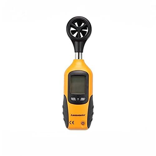 YIBANG-DIANZI Anemómetro Mini conteo Meter Pantalla Completa Detector de Velocidad de la Velocidad de Mano Utilizada for probar la Velocidad del Viento en el Aire