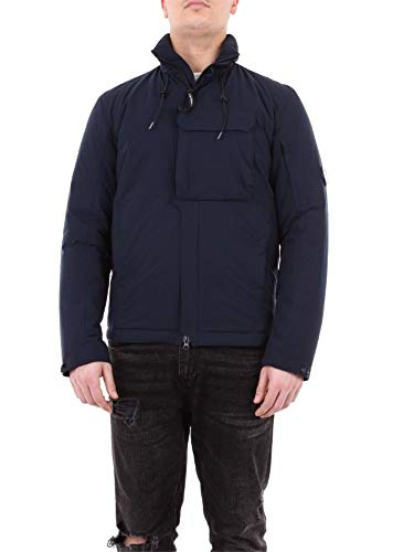 Luxury Fashion | Cp Company Heren 07CMOW022A004117A888 Donkerblauw Polyester Outerwear Jassen | Seizoen Outlet