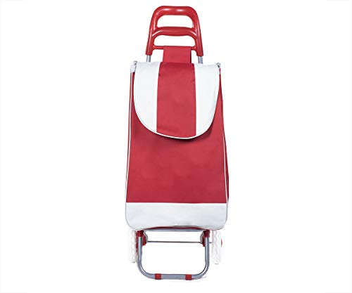 Carrito para compras Mandado plegable con ruedas hasta 25 kg