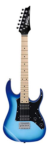 Ibanez GRGM21M-WNS GIO RG Mikro Series - Guitarra eléctrica, color azul
