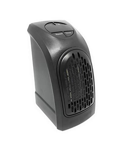 Mini riscaldatore portatile in ceramica da 350 W, termostato elettrico con timer,...