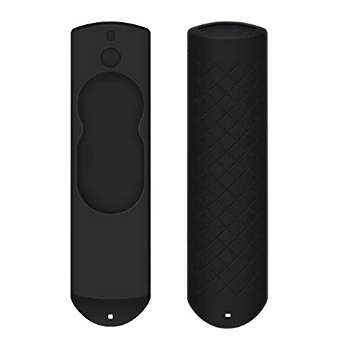 MMLC Amazon Fire TV fernbedienung Hülle Silicone Cover (Black)