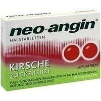 Neo-Angin Halstabletten Kirsche, 24 St