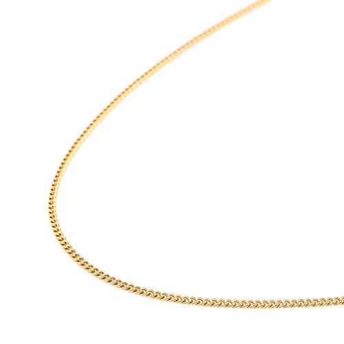 純金 喜平 ネックレス 2面 5g - 45cm 引輪 ゴールド メンズ レディース チェーン K24 造幣局検定マーク刻印入