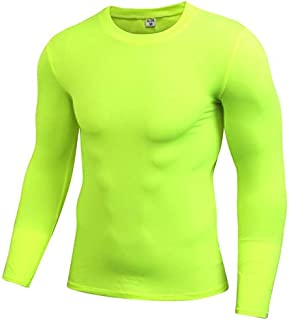 BEESCLOVER Long Sleeve Running T-Shirt Sport Shirt Men Training Elastic Tight Jersey Fitness Gym Wear Clothes Compression Sportswear