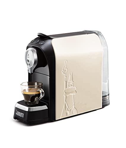 Bialetti Elettrico Bialetti Super Macchina da caffè, 1200 W, 0.7 Litri, Bianco Latte