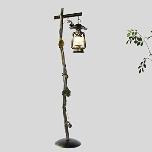 YXYOL Kreative Eisen Antike Vintage Stehlampe, Jahrgang industrielle Wind Stehleuchte Wohnzimmer Schlafzimmer Nachtclub Stehlampe für Wohnzimmer Inn Study Room