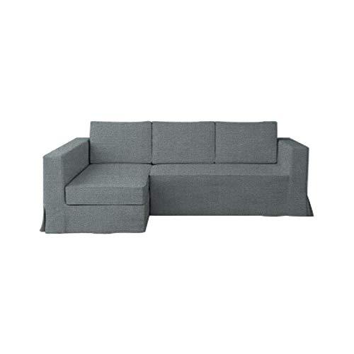 TLYESD - Funda de sofá para sofá de 3 plazas de IKEA Manstad de poliéster, Ajuste Holgado, para sofá Cama de 3 plazas y Funda de sofá seccional