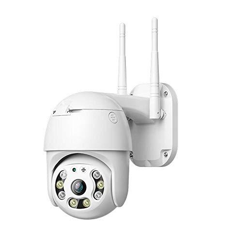 SXDYLJC 1080P Cámara De Vigilancia Móvil 3G/4G LTE Exterior, No Necesita WiFi, Resistente A La Intemperie, Visión Nocturna,Detección Y Seguimiento Automático, Notificación De Alerta 4GVersion