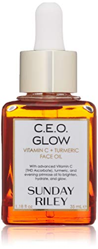 Sunday Riley C.E.O. Glow Vitamin C & Turmeric Face Oil, 1.18 Fl Oz
