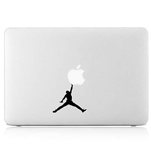 Air Jordan Jumpman Logo - Apple MacBook Laptop Vinyl Sticker Decal