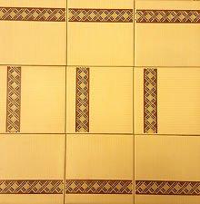 H & R Johnson universale per piastrelle in ceramica 2SQM vintage cucina bagno 9pezzi