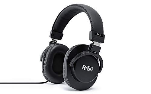 Rane RH-1 - 40 mm Full-Response, High-Fidelity Over-Ear Kopfhörer mit 3,5 mm Stecker