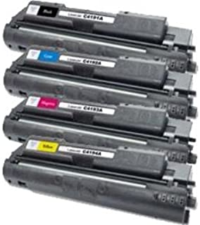 Calitoner Remanufactured Laser Toner Cartridge Replacement for HP 640A - (4 Pack)