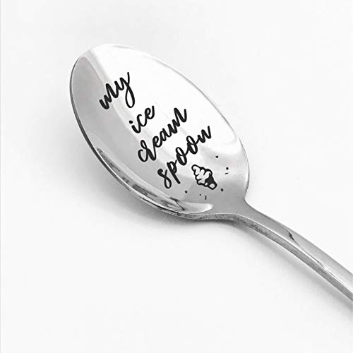 """My Ice Cream Spoon"" Gift For ice cream lovers!"