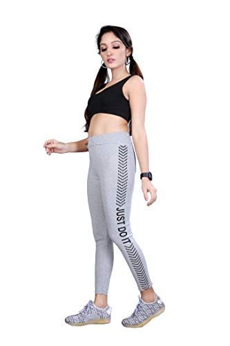 VENIQE®️ Women Tracksuit Stylish for hot Look Track Suit Fabric in Rib Cotton Type: Tracksuit (Grey Track and Black Bra) (Size - 28 to 34)