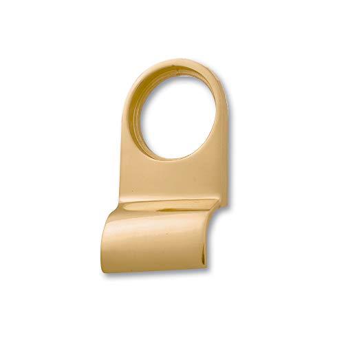 Yale Locks P110 Türgriff für Zylinderschloss, Messing-Lackierung