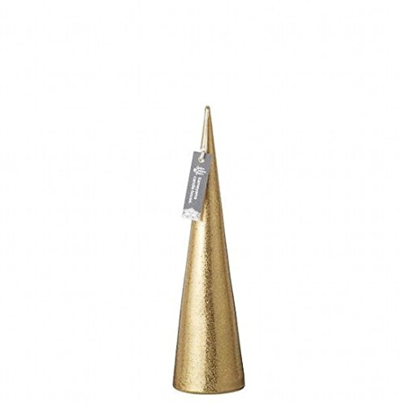 再開オーディションパトロールkameyama candle(カメヤマキャンドル) メタリックコーンM「 ゴールド 」(A9560110GO)