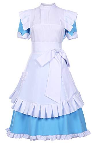 Bilicos Alicization Sao AliceSynthesisThirty Dress Traje Cosplay Disfraz Mujeres XXL
