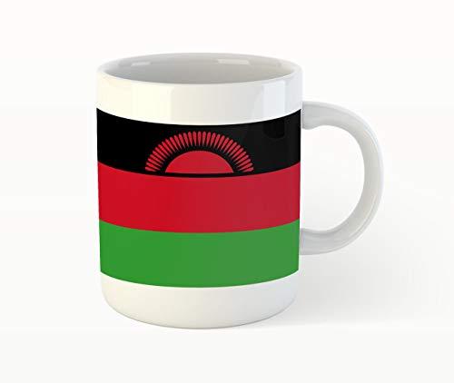 Malawi Flag Kaffee Tee Becher