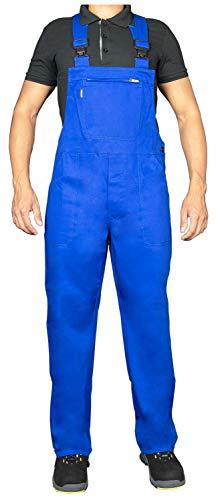 Uvex Eco 126 Herren-Arbeitshose - Blaue Männer-Latzhose 58