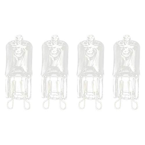 Las bombillas halógenas de 8 unidades G9 emiten bombillas de repuesto de cápsula de lente de 25 W 220 V LED.